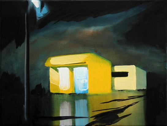 Der Zustand (Licht) (2), 30 x 40 cm, Öl/N, 2012 (v)