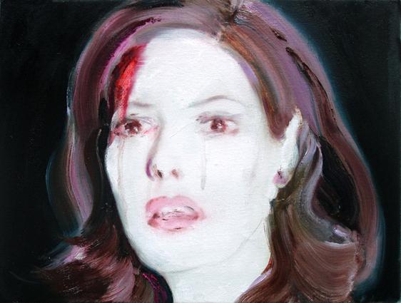 In the Moment, 30 x 40 cm, Öl/N, 2008 (v)
