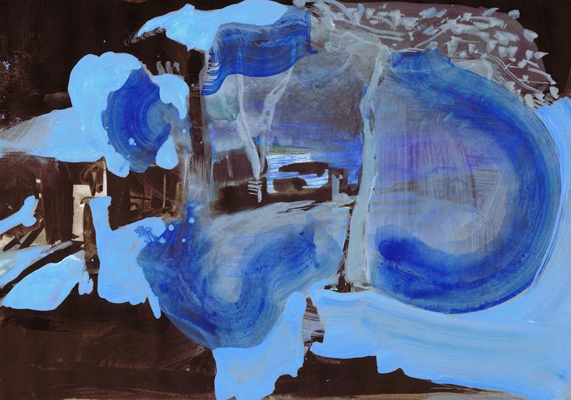 o.t., gouache+acryl/papier, 20 x 29 cm, 2010/11 (v)