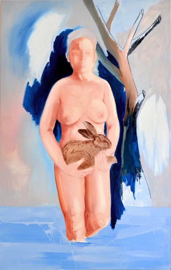 Let's call it nature (venus), 180 x 120 cm Öl/N, 2014