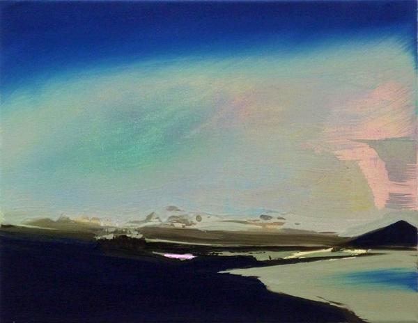 Look Into, 35 x 45 cm, Öl/N, 2010 (v)