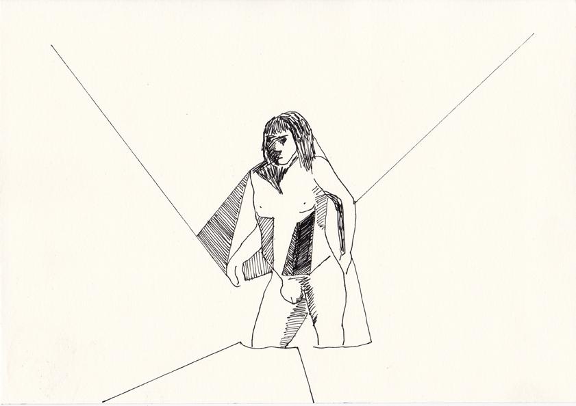 o.t., 20,8 x 29,5 cm, tusche/papier, 2016