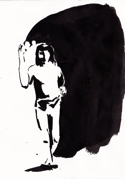 o.t., 21 x 15 cm, tusche/papier, 2016