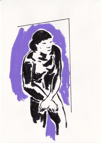 o.t., 21 x 15 cm, tusche/farbstift/papier, 2015