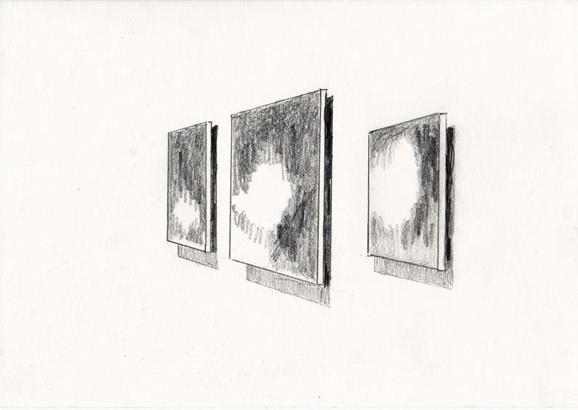o.t., 15 x 21 cm, bleistift/papier, 2014 (v)