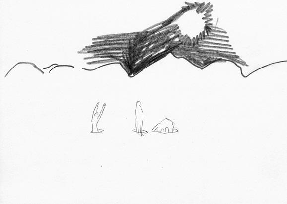 let's call it nature, 14,8 x 21 cm, bleistift/papier, 2012