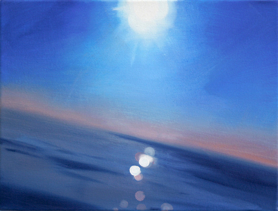 Seasight (2), 30 x 40 cm, Öl/N, 2012