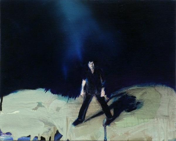 Stand It, 24 x 30 cm, Öl/N, 2010 (v)
