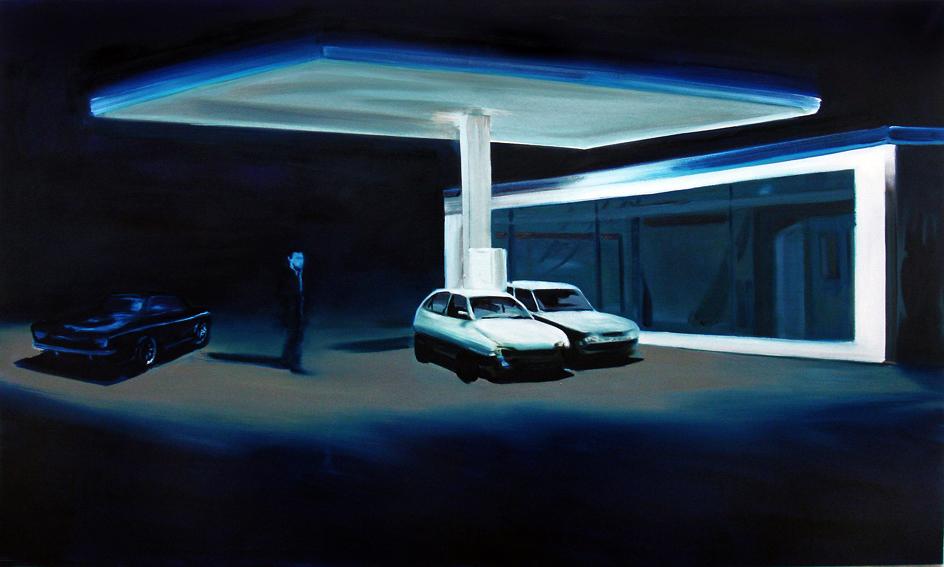 The Passage, 150 x 195 cm, Öl/Nessel, 2008
