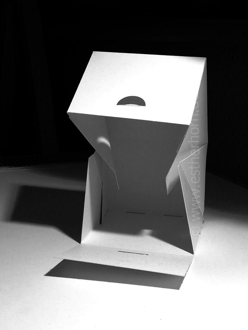 The sculpture idea, printversion various dimensions, 2020