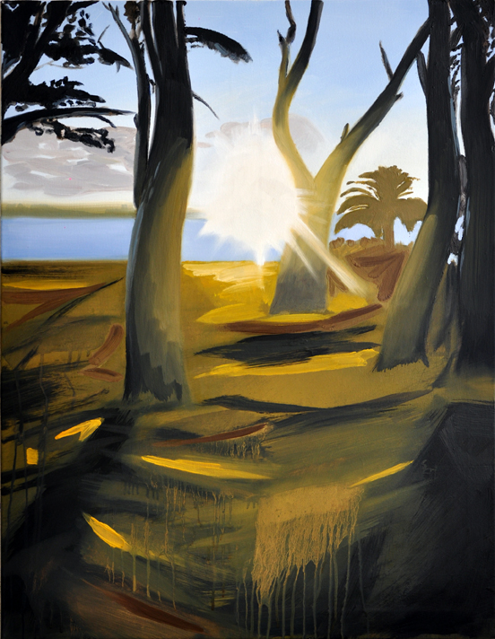 Let´s call it nature (4), 90 x 70 cm, Öl/N, 2014
