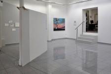square, Acrylfarbe/Kohle//Holz/Wand, im Rahmen der Ausstellung LET'S CALL IT NATURE, Galerie Ahlers, Göttingen, 2014