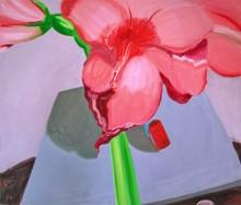 Amaryllis 2, 170 x 200 cm, Öl/N, 2000