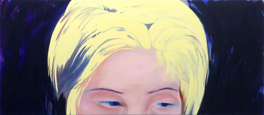 And You, 95 x 220 cm, Öl/N, 2010