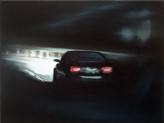 Away From You, 30 x 40 cm, Öl/Nessel, 2008 (v)