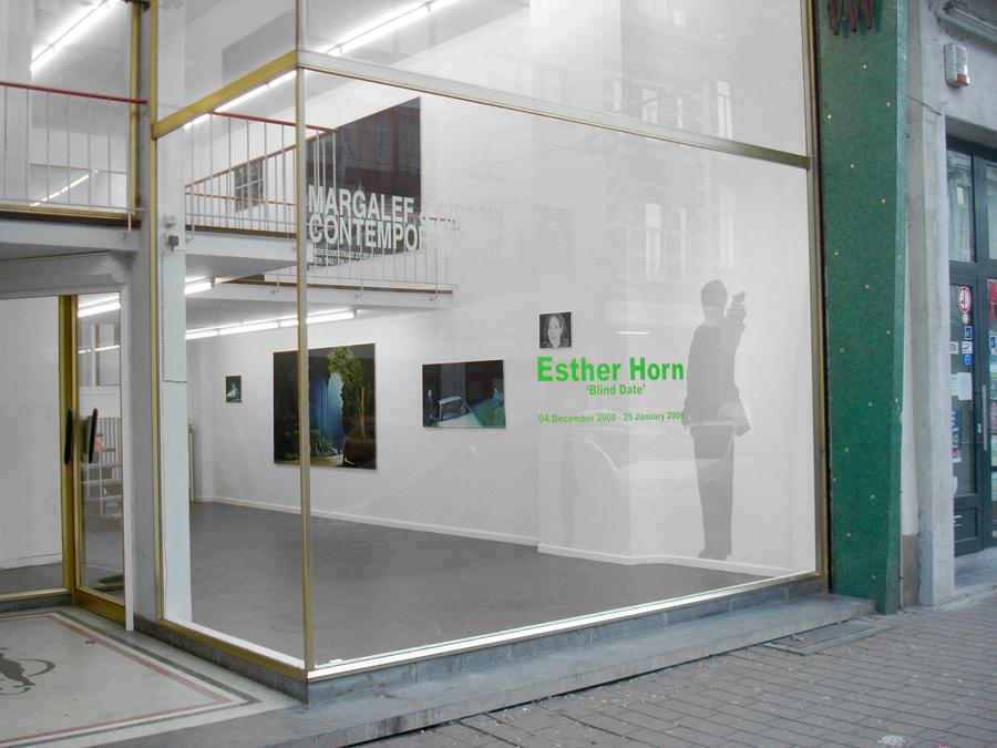 BEHIND, Ausstellung 'blind date', Margalef & Gipponi gallery, Antwerp, 2008