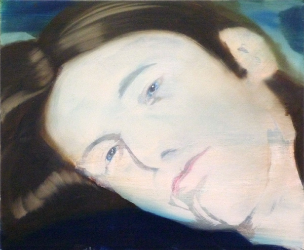 Behind You, 45 x 55 cm, Öl/N, 2010