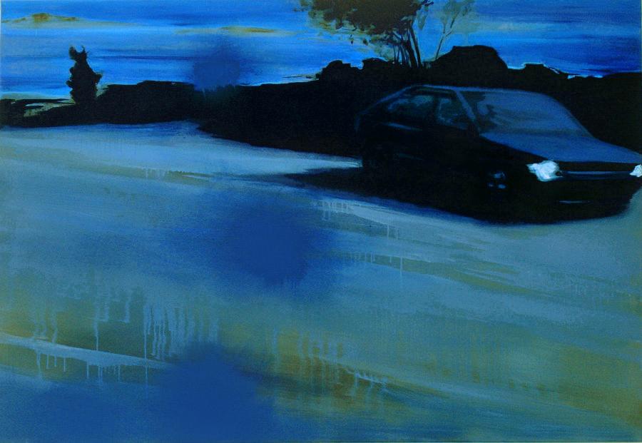 Blind Date, 110 x 160 cm, Öl/Nessel, 2008 (v)