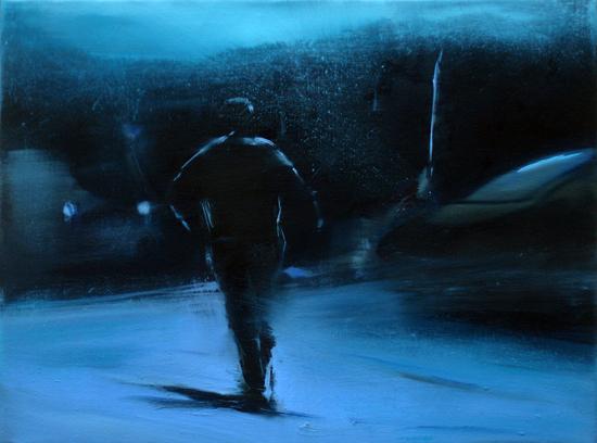 Escape, 30 x 40 cm, Öl/Nessel, 2008 (v)