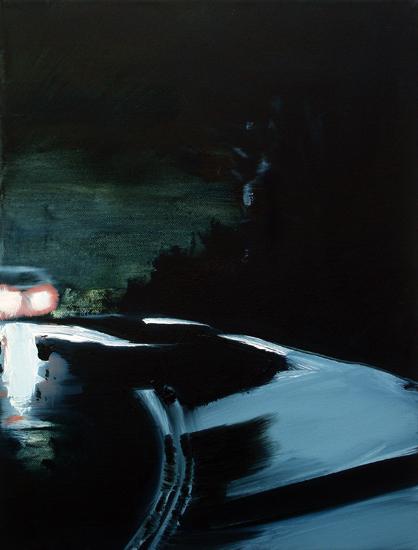 I See You, 40 x 30 cm, Öl/Nessel, 2008 (v)