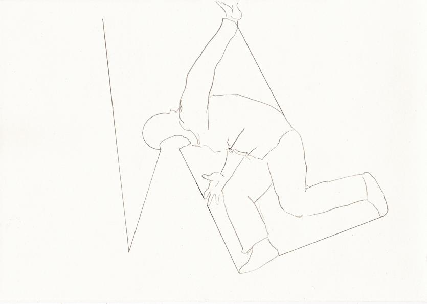 o.t., 20,8 x 29,5 cm, bleistift/papier, 2017