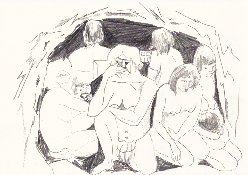 o.t., 20,8 x 29,5 cm, bleistift/papier, 2016