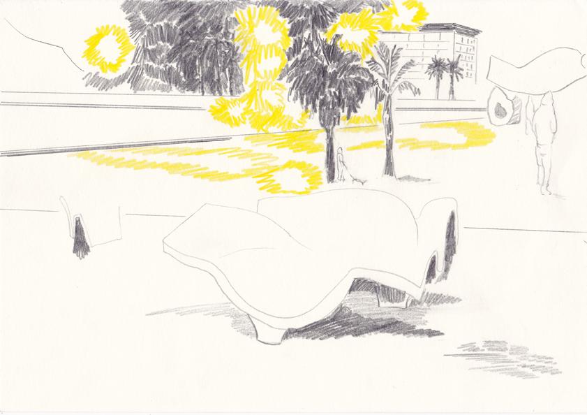 o.t., 20,8 x 29,5 cm, farbstift/bleistift/papier, 2014