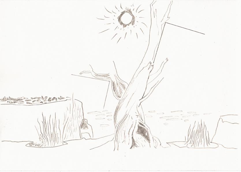 could be, 20,8 x 29,5 cm, bleistift/papier, 2017