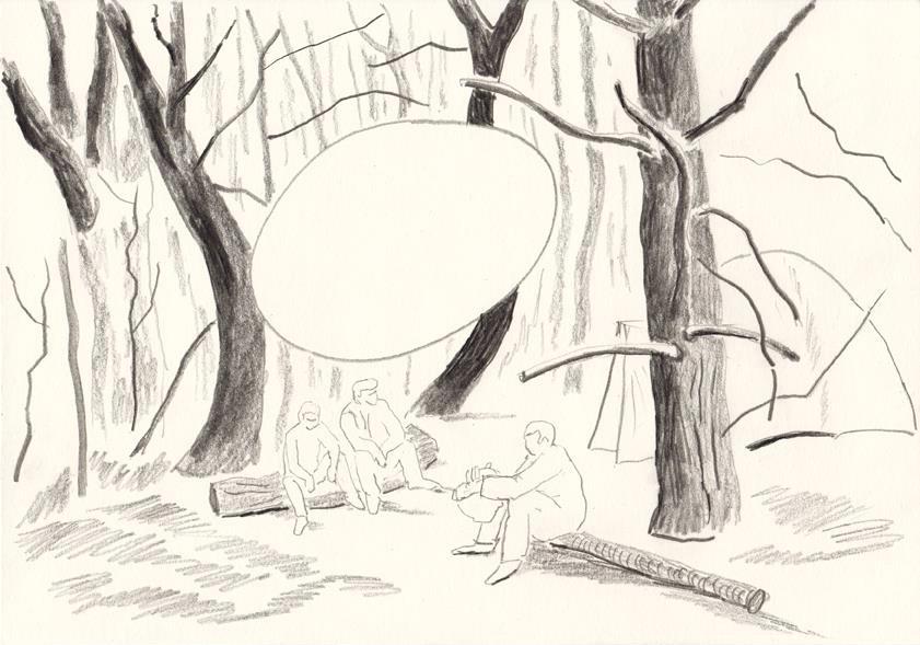 o.t., 20,8 x 29,5 cm, bleistift/papier, 2014 (v)