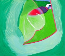 Zelt 6, 170 x 200 cm, Öl/N, 2000