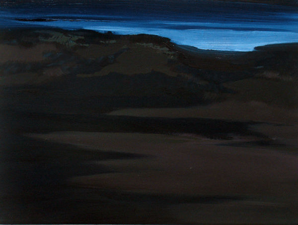 Der Zustand (Licht) (3), 30 x 40 cm, Öl/N, 2006 (v)