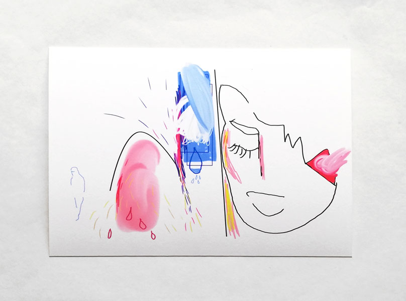 time for space, (1 von 5), 11 x 15 cm, fine art print / Hahnemühle Papier weiss 300 gr, 2020