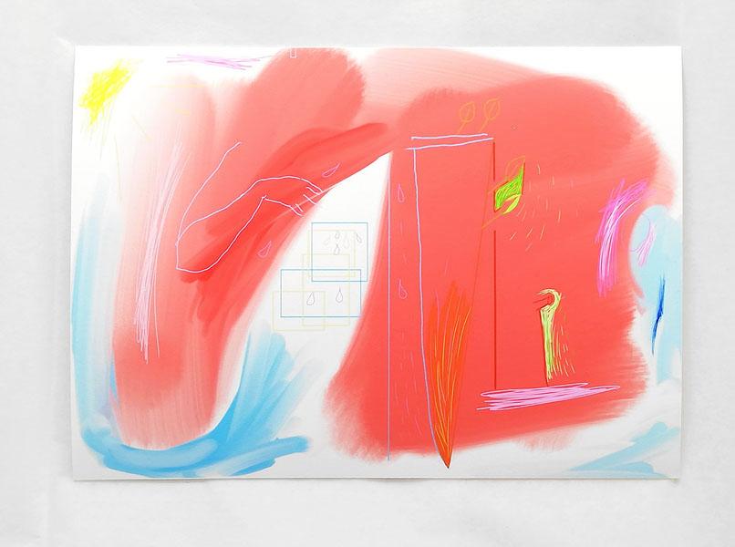 The garden, (1 von 5), 15 x 21 cm, fine art print / Hahnemühle Papier weiss 300 gr, 2020