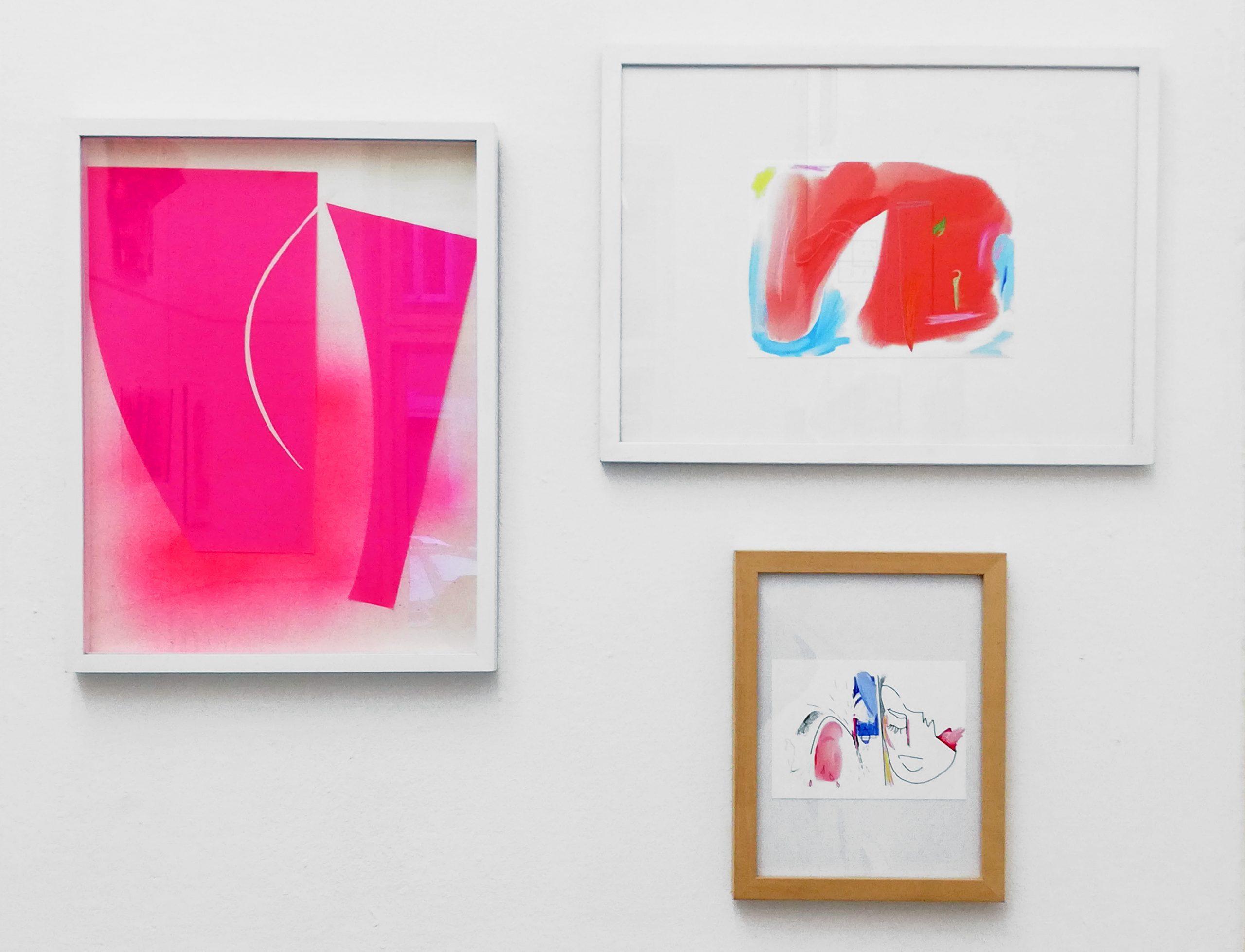 My contribution @kunstvereinneukoelln pink_panic